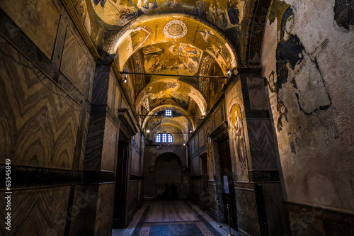 Chora Church in Istanbul Turkey