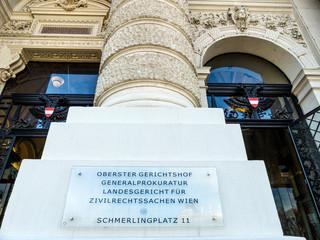 Wien. Österreich. Oberster Gerichtshof