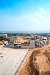 stadyum inşaatı