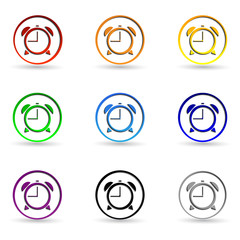 Set clock icons