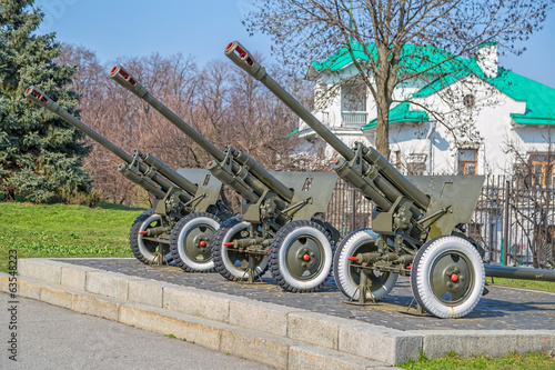 Artillery from the Second World War