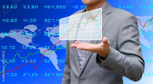 Investor sharing analyze stock exchange data
