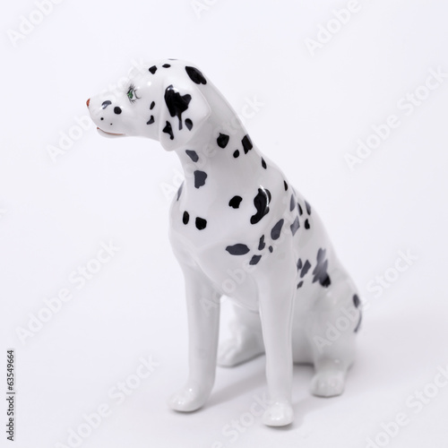 Dalmatian Dog ceramic figurine