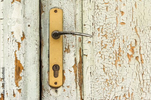 Abandoned Village House Door Handle