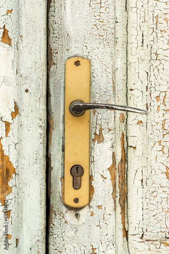 Old House Door Handle