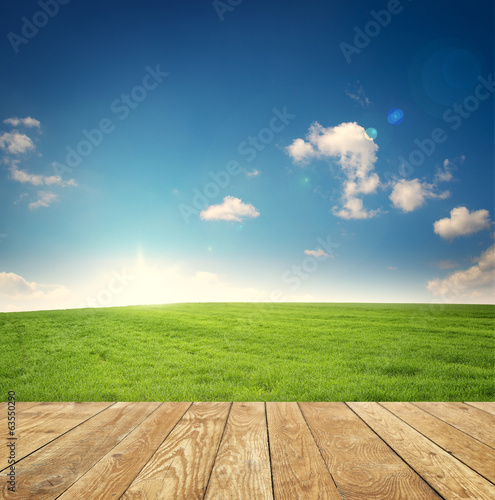 canvas print picture Naturlandschaft