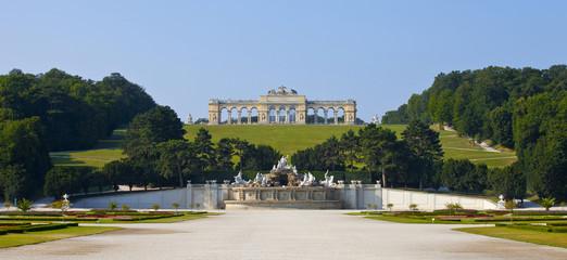 Schonbrunn Palace Gardens at Vienna