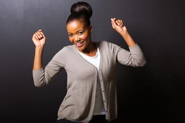 african american girl dancing
