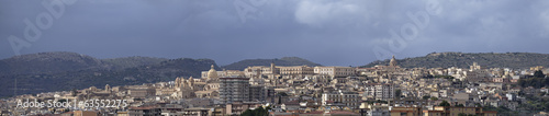 Italy, Sicily, Noto, view of the baroque town