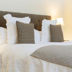 Bedroom modern design with furniture