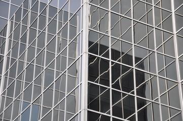Glass building exterior