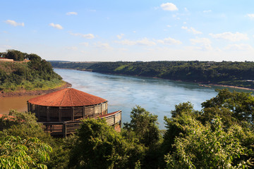 The Triple Frontier brazilian site, Paraguay, Argentina, Brazil