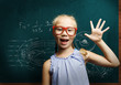 Smart schoolgirl