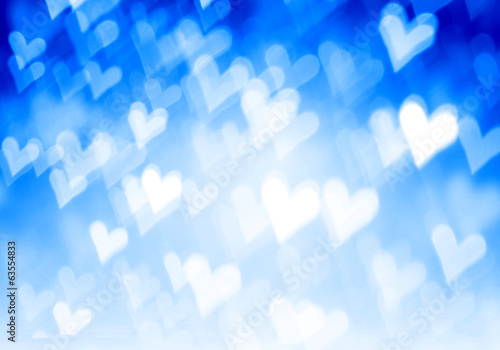 canvas print picture Bokeh lights