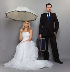 Married couple problem, indifference depression discord