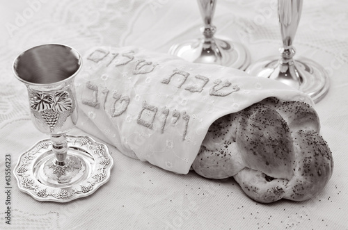 Shabbat eve table - 63556223