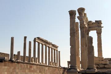 Ruins of Trajan temple