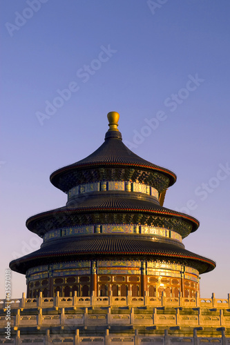 A Beautiful Picture Of Temple Of Heaven