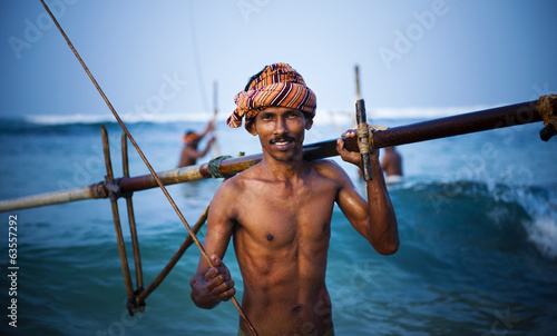 Cheerful Fisherman