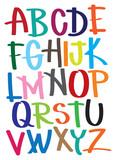 Fototapety Vector illustrate alphabet