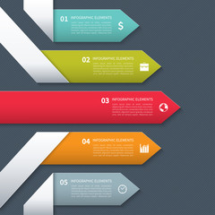 Modern Minimalistic  Infographics Banner