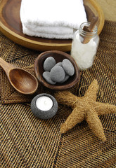 spa- aromatherapy concept