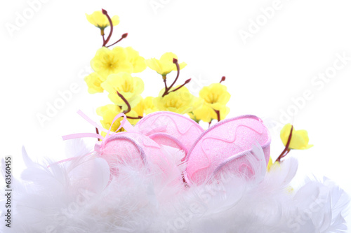 Easter decoration on table