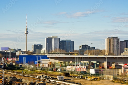 Cityscape in Berlin, Germany