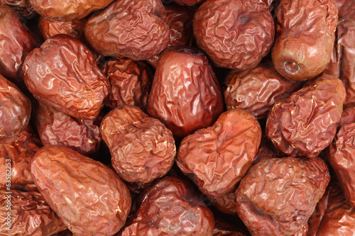 sweet dried dates abstract background