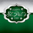 Saint Patrick's Day card in vector format.