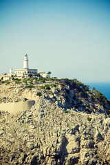 Lighthouse Formentor in Mallorca, Spain