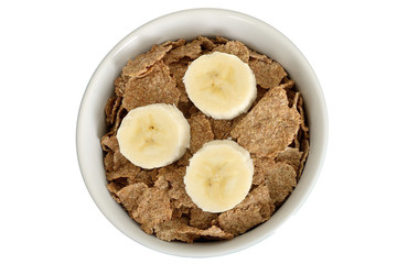 Bran Flakes with Banana