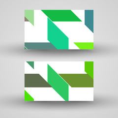 Vector business-card set for your design