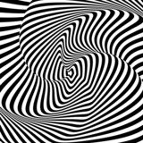 Design monochrome whirl motion illusion background - 63567462