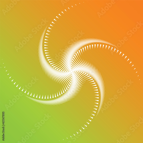 Design colorful whirl movement background