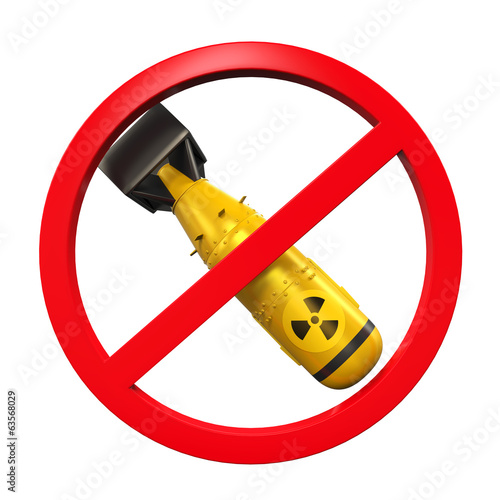 Nuclear Forbidden Sign