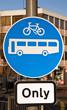 Road sign UK