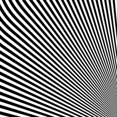 Design monochrome lines illusion background