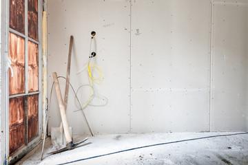 Rohbau Renovierung © Matthias Buehner