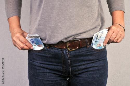 De l'argent plein les poches