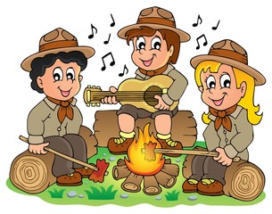 Children scouts theme image 1