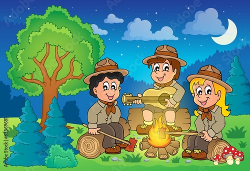 Children scouts theme image 2