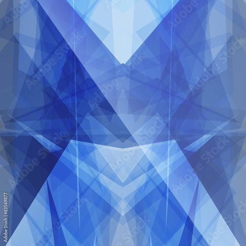 Topaz blue triangular square background button icon with flare