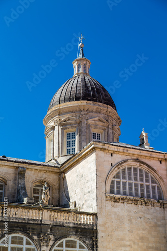 Ancient Dome Under Dubrovnik Sky