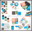 Timeline and  Infographics design templates
