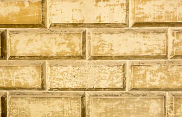 Dettaglio di umidità sul muro in pietra leccese