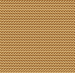 Seamless Brown Rope Texture