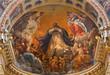 Bologna - Glory of st. Dominic fresco by Guido Reni