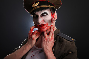 Zombie Soldier Blood