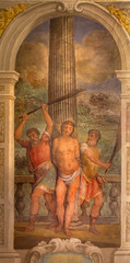 Bologna - Flagellation of Jesus from church San Michele